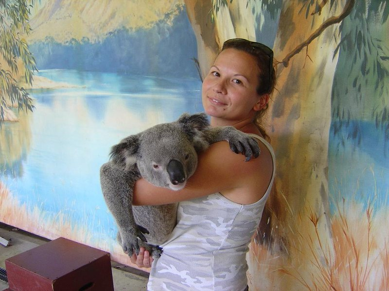 Me and a lovely koala