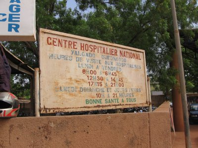 Hôpital central de Burkina