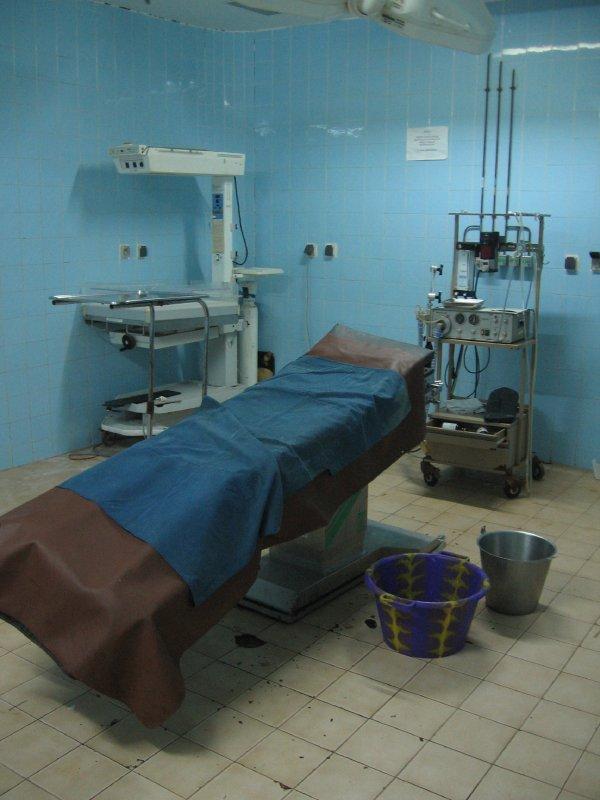 Gynaekologischer Notfall-OP