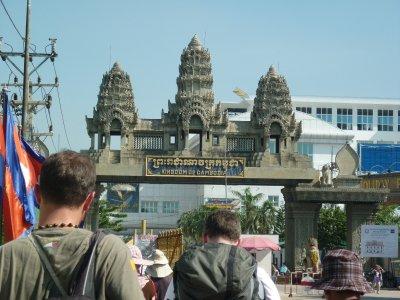 Border to cambodia