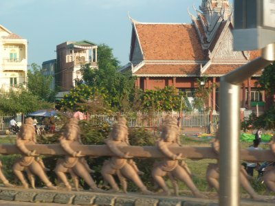 road side sites near Sisophon cambodia
