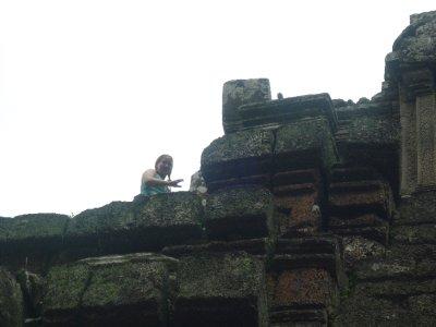 sara on Top of Bayonne