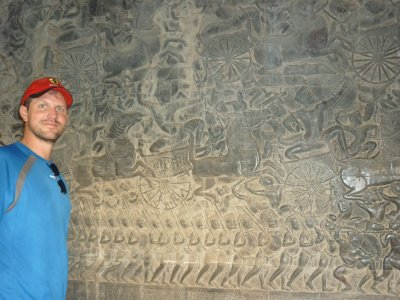 inscription at angkor wat - siem reap