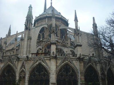 Notre Dame Rear view