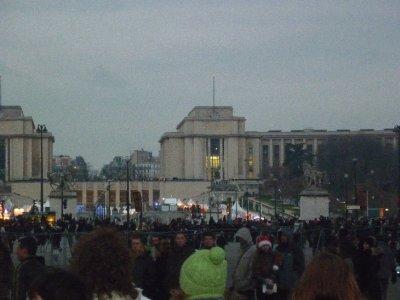 Government complex behind Eiffel