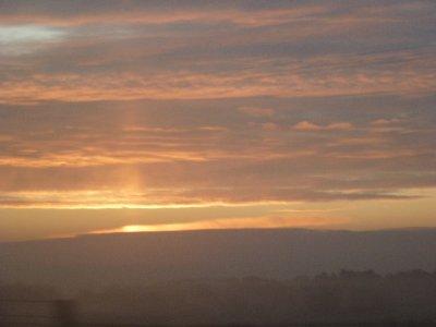 English sunrise
