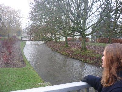 Sara views the Avon river!