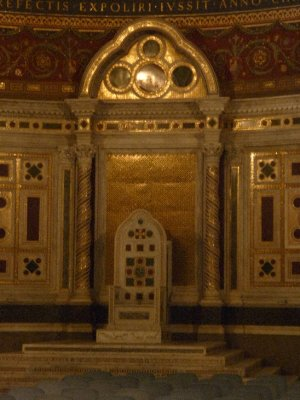 John Lateran Pope's chair
