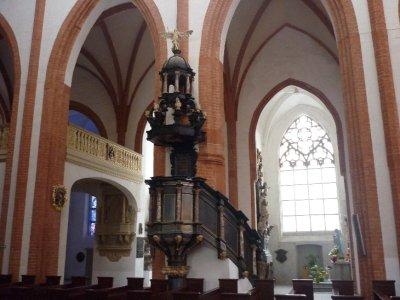 Pulpit in St. Elizabeth