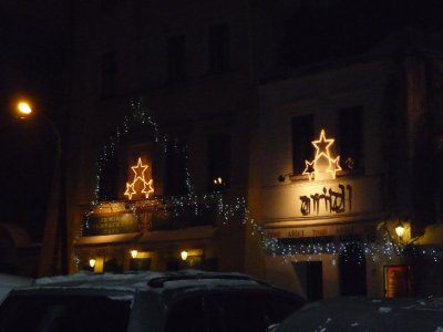 Jewish quarter decorations