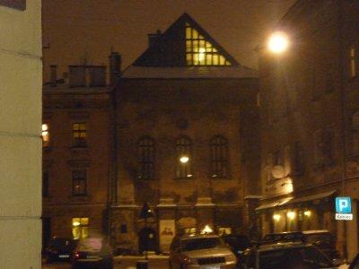 Synagogue in Jewish quarter