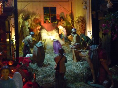 Nativity at Basilica of St. Mary
