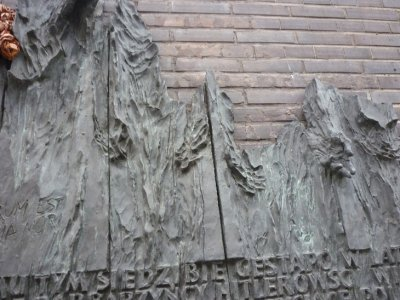 Memorial on Gestapo building