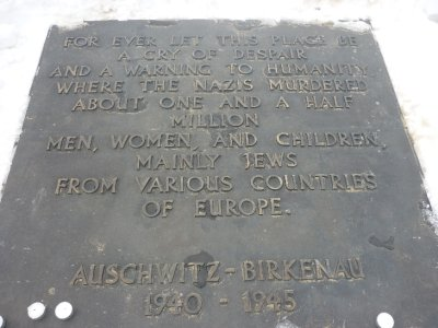 Memorial at Auschwitz II   #2