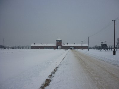 Entrance Building Auschwitz II