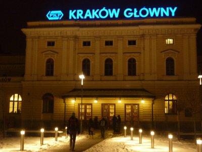 Krakow Main train station