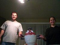 Sara, Mike, + Insecto