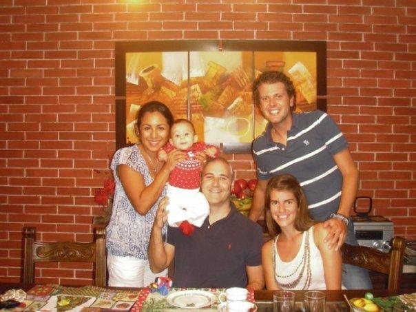 Reunión en Lima con Antón, Vero y Sofía