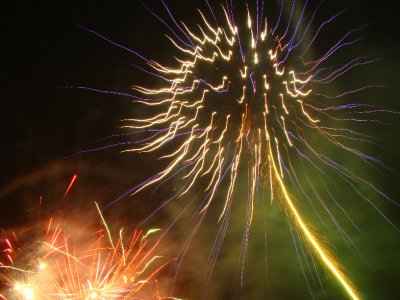 Firework effect
