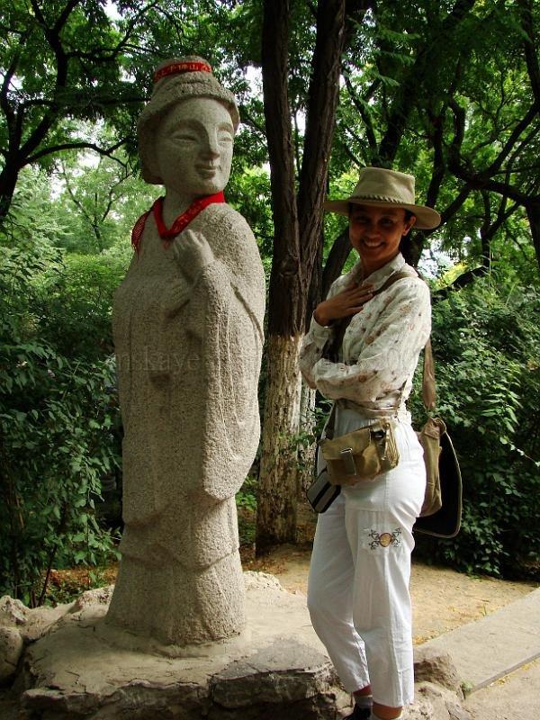 my statue twin
