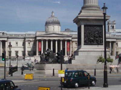 National Gallery &#38; Nelson&#39;s Column