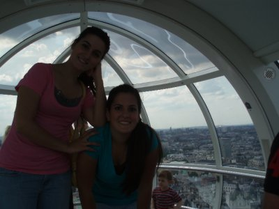 Annie &#38; me on the London Eye
