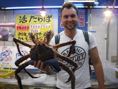 Si`s got crabs!!!