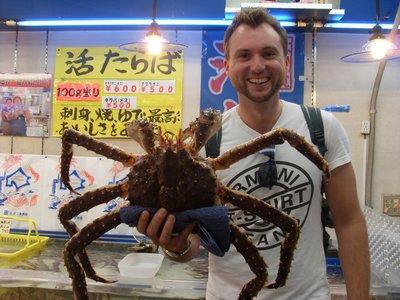 Si`s got crabs!