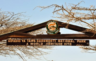 Serengeti Sign