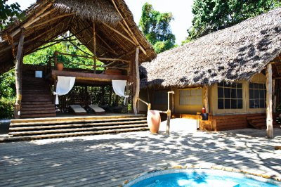 Cabana, Tent, Splash Pool