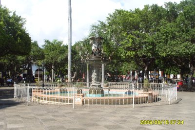 Central Park in Downtown Granada