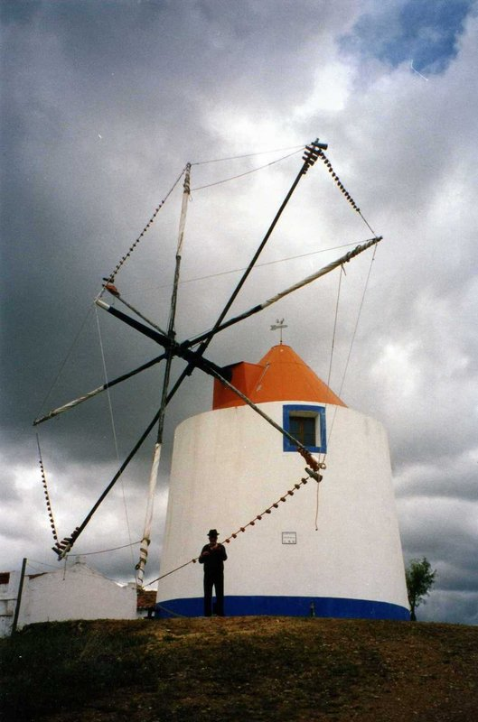Windmill in Odemira