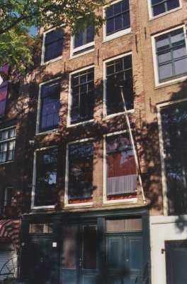 Anne Frank Huis facade Amsterdam