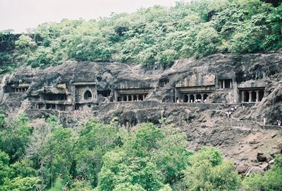 Carved Temples at Ajanta