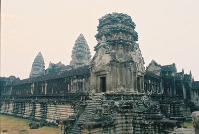 Cambodia, Angkor Wat, Towers