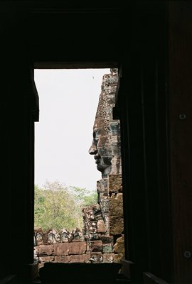 Cambodia, Bayon, Face Tower