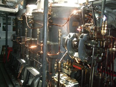 Engine Room of the SS Yavari