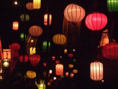 Lanterns at night in Hoi An