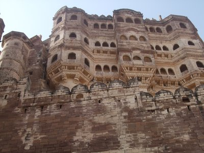 The fort at Jodhpur