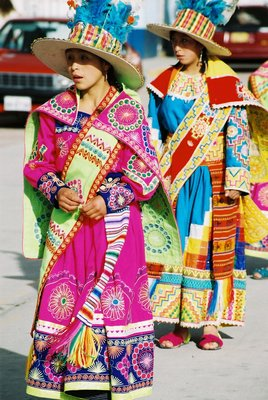Dancers in Huaraz