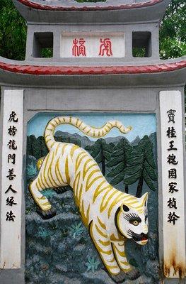 The Flirtatious Tiger