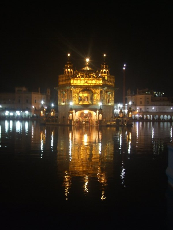 The Golden Temple at Amritsar