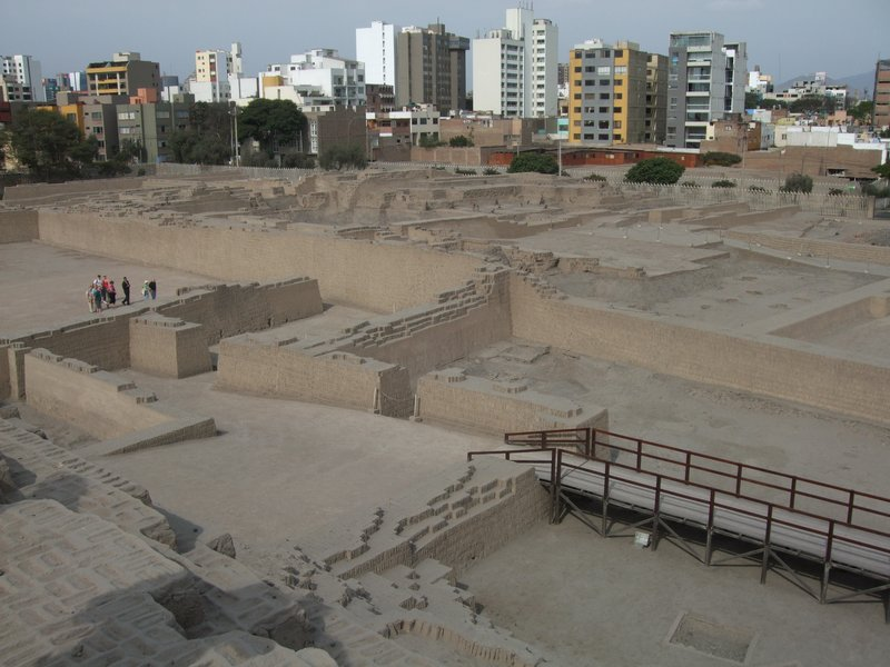 The Pyramid at Huaca Pucillana, Lima