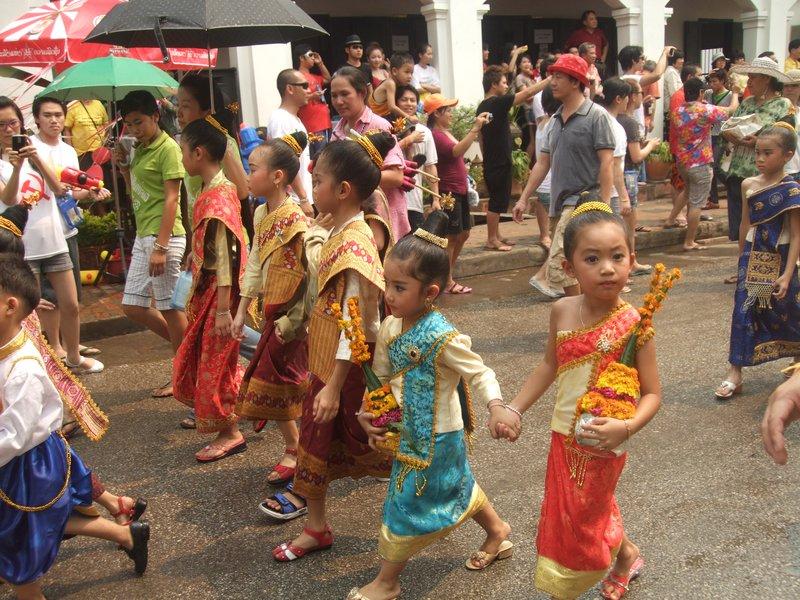 New Year Parade Luang Prabang