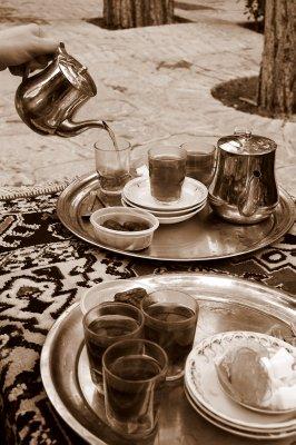 Typical tea break