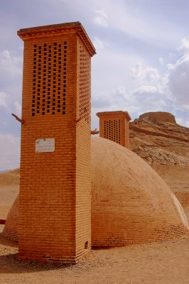 Zoroastrian Tower of Silence, where the dead were left so vultures could dispose of the body