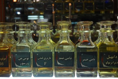 Bottles at the bazaar