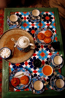Tea break in Esfahan