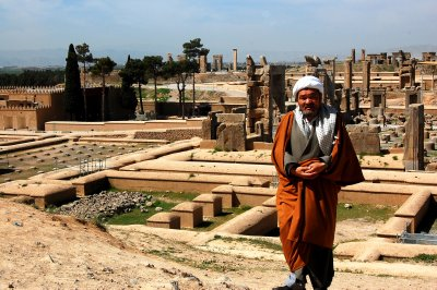Climbing up to Persepolis