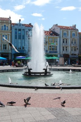 Central Square in Plovdiv